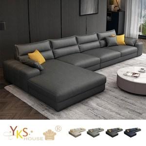 質感科技布 獨立筒座墊 左右型可變換 可拆洗布套 獨特扶手枕設計