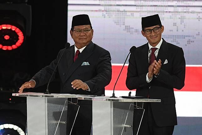 Calon presiden-wakil presiden nomor urut 02, Prabowo Subianto-Sandiaga Uno - ANT/Wahyu Putro A.