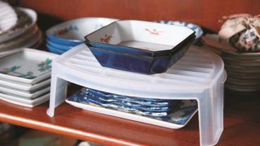 餐具碗盤收納實戰