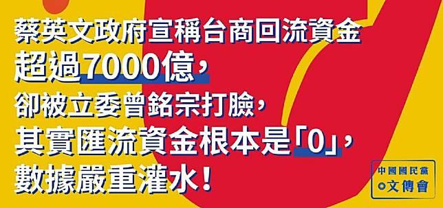 ▲(圖/翻攝自中國國民黨臉書)
