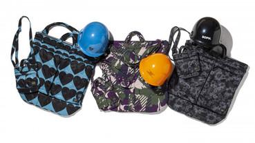 真的裝有安全帽的頭盔包 PORTER 攜手日本六大品牌推出復刻 Helmet Bag