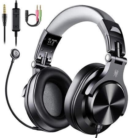 OneOdio Fusion A71D 商務/電競耳麥(黑灰) – O01-100-05