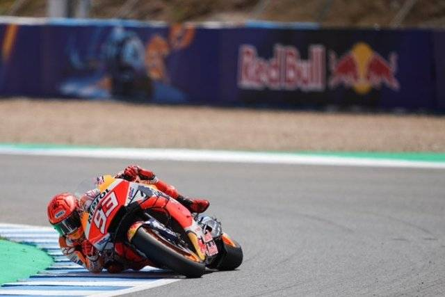 Marc Marquez Boncengi Tim Medis Usai Kecelakaan saat Sesi Latihan MotoGP Spanyol 2021
