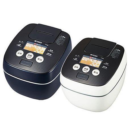【TIGER 虎牌】日本製10人份可變式雙重壓力IH炊飯電子鍋 JPB-G18R-KA(黑色)