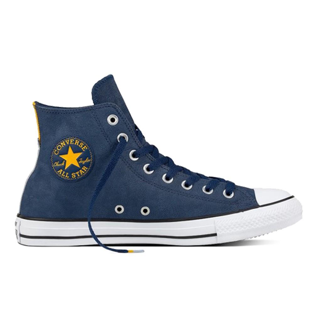 個性不羈的街頭風格 加入全新科技Lunarlon緩震鞋墊技術 奔馳街頭更具自信態度 永不退燒的經典魅力 #Converse #休閒鞋 #藍