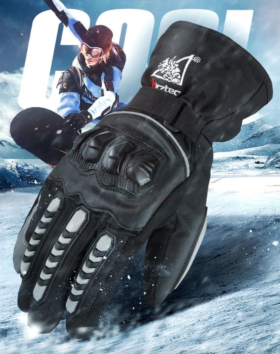 加厚雙層防水禦寒手套