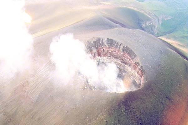 ภูเขาไฟ Asama ลดระดับการเฝ้าระวังจากระดับ 3 เป็นระดับ 2