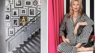 紅了二十年的超模 Kate Moss,轉行做起室內設計也還不錯