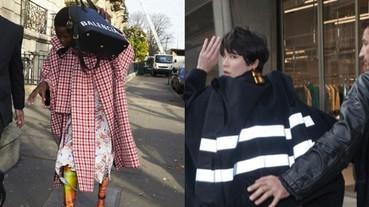 巴黎世家 Balenciaga 今天的 IG 很不尋常!每隔一小時就更新一張狗仔隊的偷拍照?