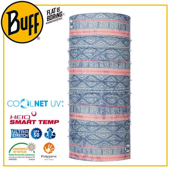【BUFF 西班牙 Coolnet 抗UV頭巾 雲日煇映】119345/圍脖/帽子/口罩/圍巾/吸溼排汗
