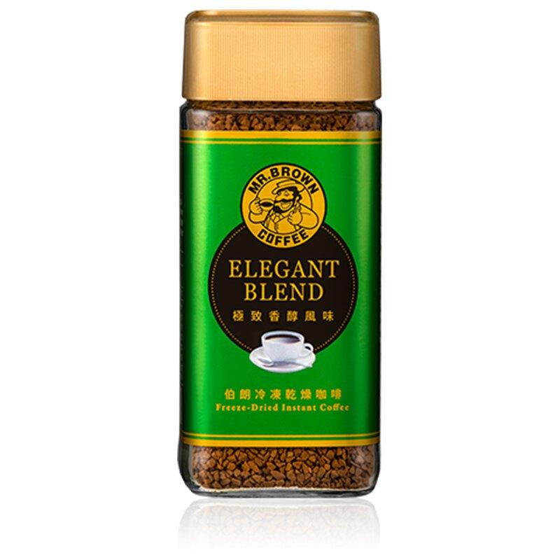 金車伯朗極致香醇風味即溶咖啡100g/瓶