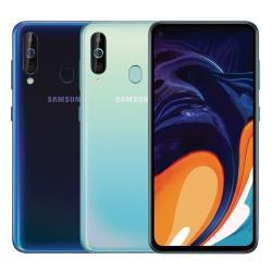 ◎6.3吋螢幕/1600萬前鏡|◎3200+500+800萬主相|◎6G RAM/128G ROM品牌:Samsung三星種類:智慧手機型號:GalaxyA60顏色:黑色系,藍色系處理器類型:八核心主