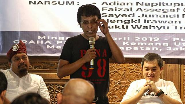 Aktivis 98 Syukuran Kemenangan Jokowi-Ma'ruf