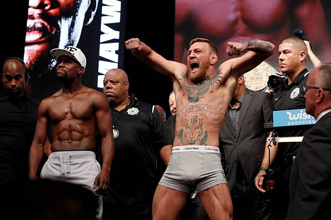 UFC: Conor McGregor calls Floyd Mayweather 'far from retired' after posting fake fight posters of 2020 rematch