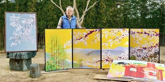 Lukisan Tatsuo Horiuchi. ©Tatsuo Horiuchi