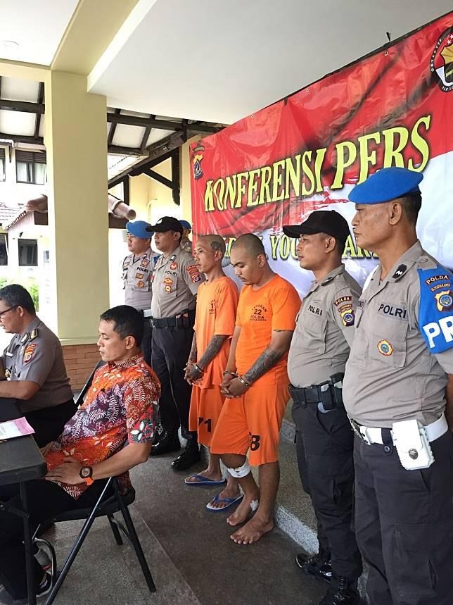 Santang, Preman Sadis di Yogyakarta, Bertekuk Lutut di Tangan Polisi