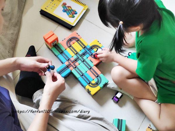 玩具推薦【Qbi 益智磁吸軌道玩具】 同樂組 #慣性齒輪小車 #紐倫堡新創玩具獎 親子同樂的好伙伴,也是暑假不可錯過的益智玩具 (15).jpg