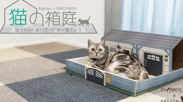 充滿奴性的地墊,所有的功用都是為了貓主子而生