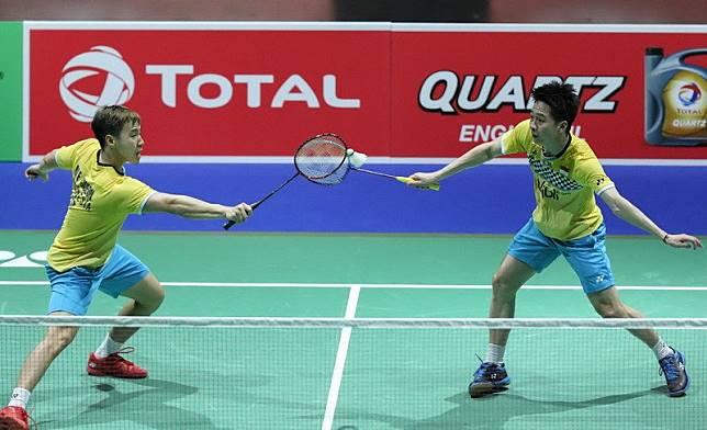 Marcus/Kevin Sukses Balas Dendam ke Choi/Seo di Babak Kedua China Open 2019