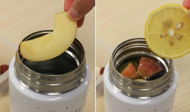 逐一把材料放入燜燒罐中,靜置2至3小時。