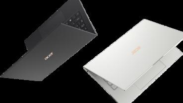 宏碁發表全新 Acer Swift 7,主打超輕薄、10 小時續航