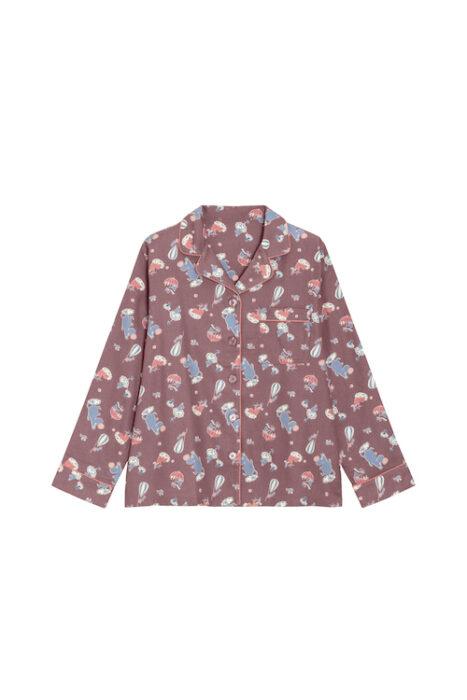 女裝法蘭絨家居服組Moomin_328745_38(上衣)