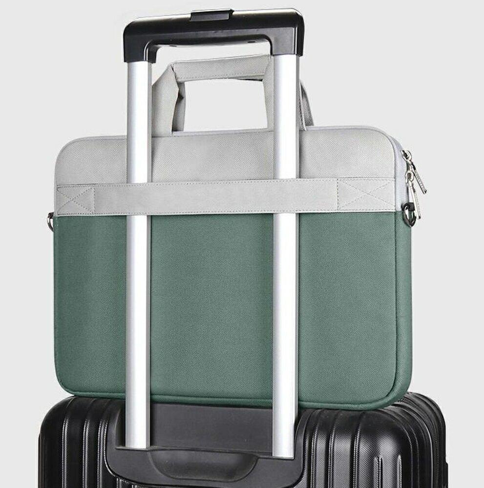 筆電包 筆記本手提電腦包15.6寸適用蘋果聯想拯救者y7000p小新air14pro13 15英寸