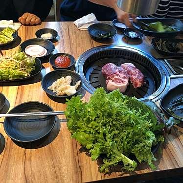 実際訪問したユーザーが直接撮影して投稿した百人町韓国料理ヨプの王豚塩焼 熟成肉専門店 新大久保駅前店の写真
