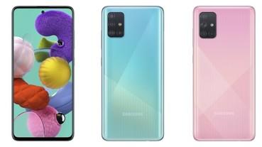 六筒造型鏡頭來了!三星發表 Galaxy A71 和 A51 新機,主打高畫素攝影功能