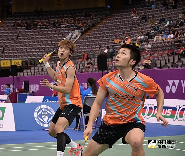 ▲台灣羽球男雙組合「雙李配」李洋(右)、李哲輝。(圖/大會提供)