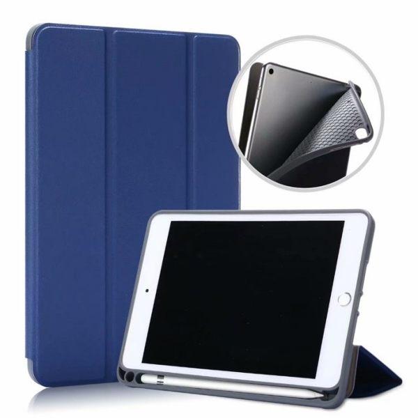 ipad mini5 智慧休眠 mini4 迷你 4 平板保護套 防摔 皮套 智慧休眠 三折 卡斯特