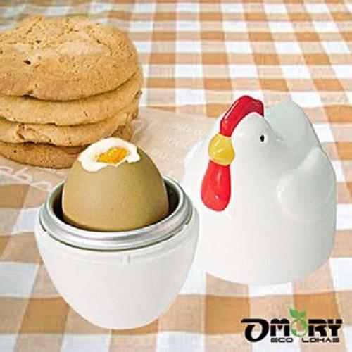 單顆個人經濟方便 ˙微波爐專用無煙餐具 ˙簡單快速好便利 ˙保留雞蛋原味營養不流失 ˙耐高溫抗低溫 ˙重量輕不易破不燙手 台灣製造 安全 品名:公雞造型微波煮蛋器(單顆入) 內容:上蓋*1+底座*1+