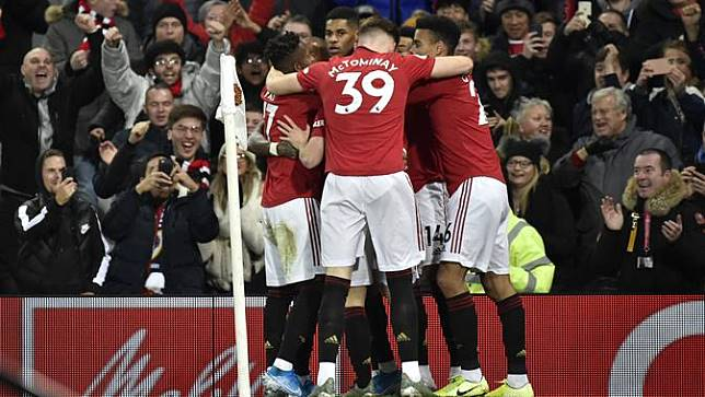 Marcus Rashford Borong 2 Gol, Manchester United Bungkam Tottenham