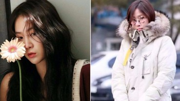 戴眼鏡像 15 歲!韓國「鬼怪歌姬」韶宥穿「羽皇級」外套, 踩超級限量球鞋!