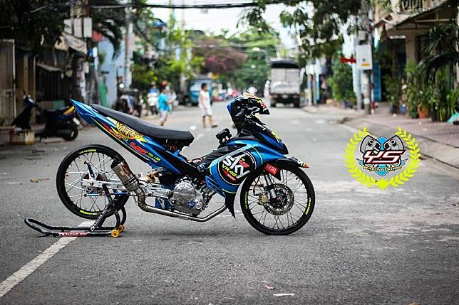 Jupiter MX 135 livery Sky Racing Team VR46