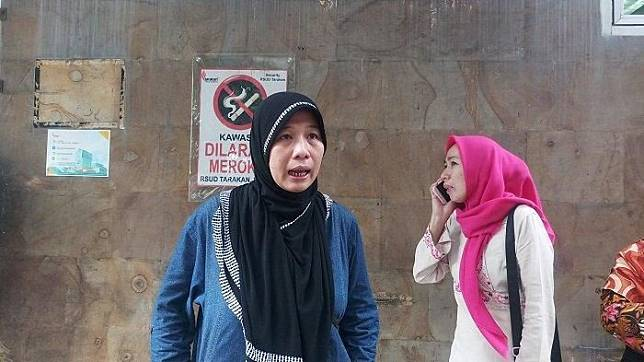 Liani, tante dari Widyanto Rizki Ramadan.