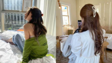 居家必備的大嬸髮夾居然要大流行了嗎?韓國女星時尚私服都搭這個!