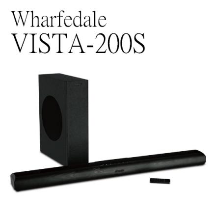 【特惠中 領卷再折】Wharfedale沃夫戴爾 VISTA-200S 家庭劇院 無線傳輸超低音 公司貨 0利率