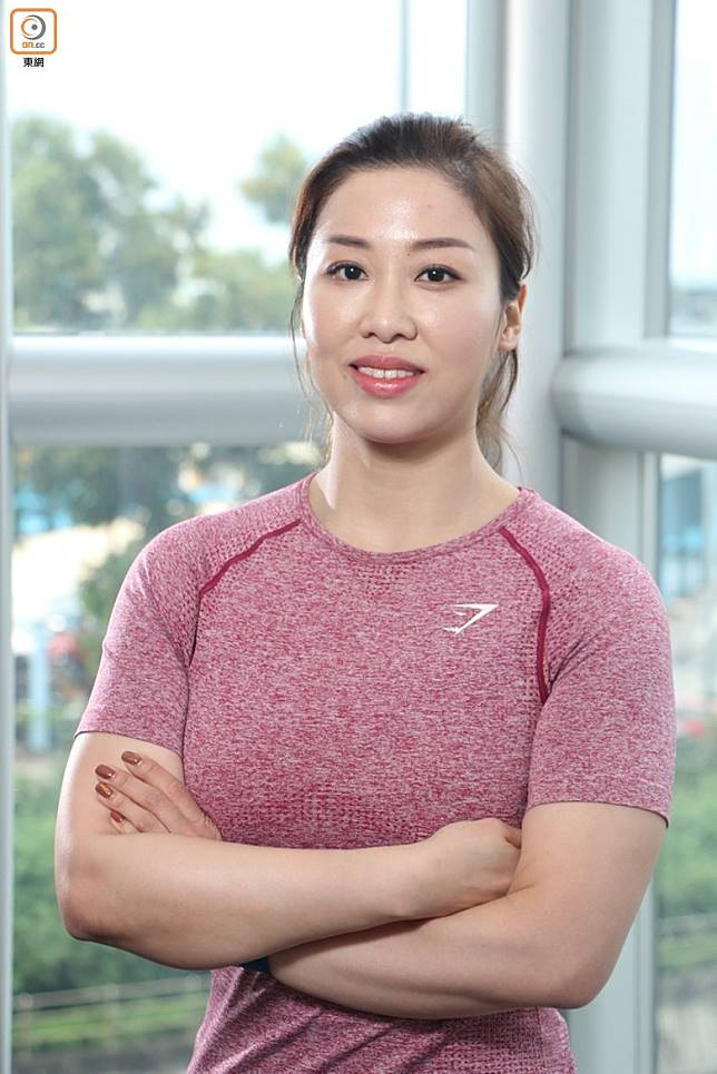 Pure Fitness Personal Trainer Winnie(張錦昌攝)