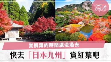 日本最美賞楓地方!到九州這幾個城市一邊賞楓葉,一邊感受日本傳統文化氣息吧~