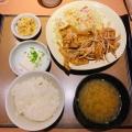 生姜焼き定食 - 実際訪問したユーザーが直接撮影して投稿した西新宿定食屋やよい軒 新宿小滝橋通り店の写真のメニュー情報