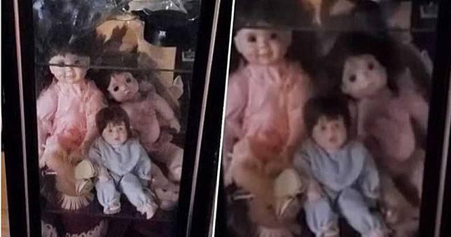 安娜貝爾現實版!男子家中玻璃櫃娃娃「自動往前滑」 網友:快點搬家!