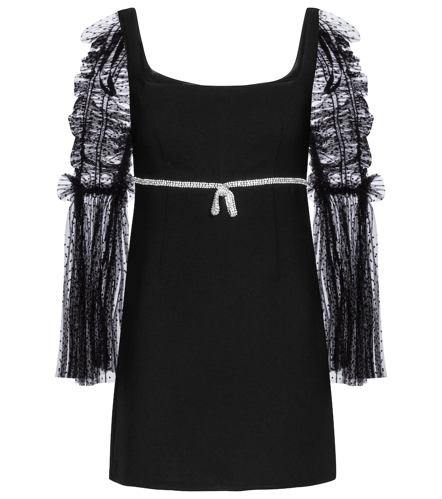 To all the Self-Portrait girls planning a holiday soirée: we've found your Little Black Dress.