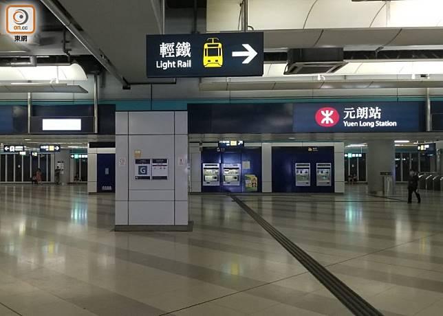 明天會有西鐵元朗站靜坐活動。