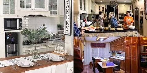 10 Penampakan Dapur Mewah Selebriti Tanah Air