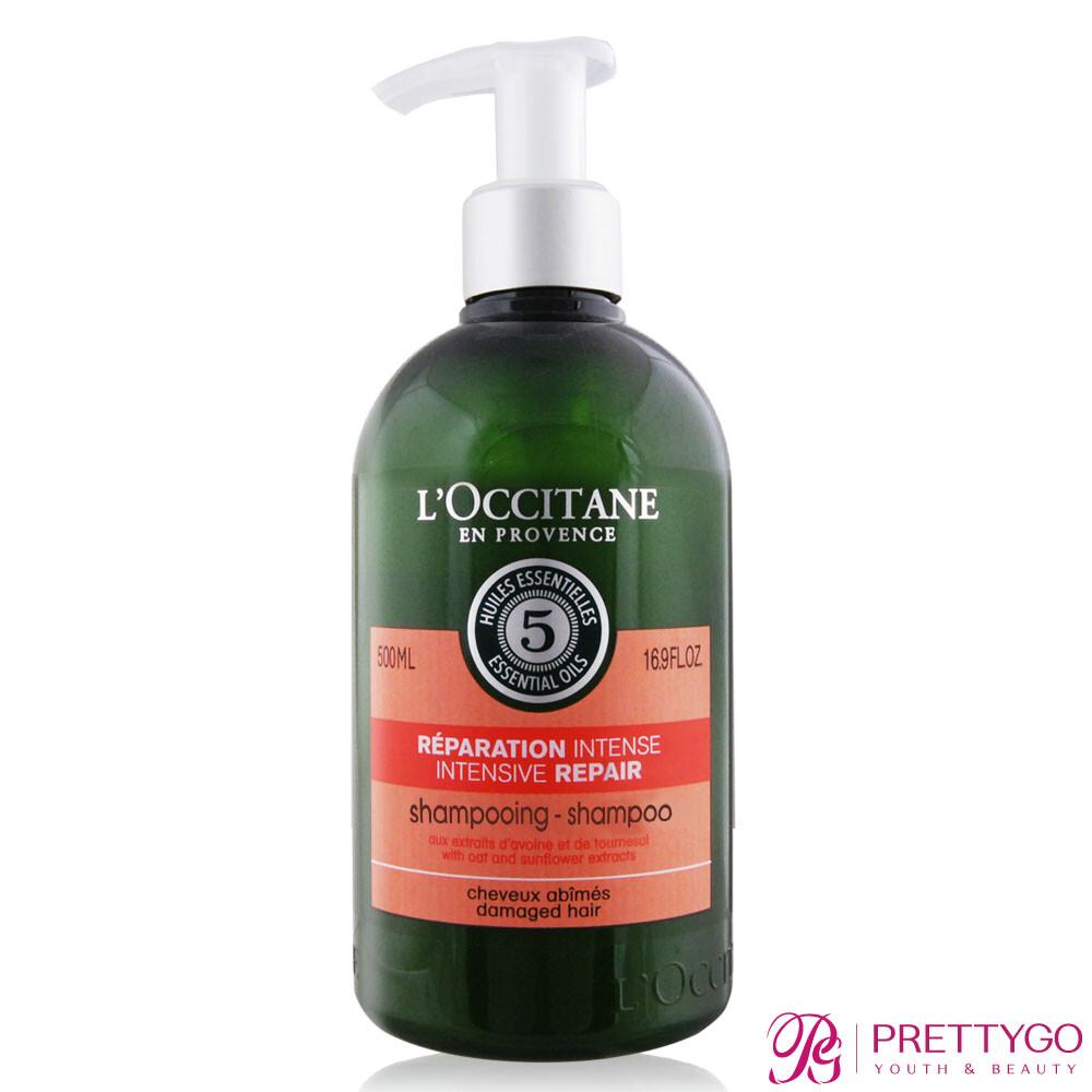 l'occitane 歐舒丹 草本修護洗髮乳(500ml)-百貨公司貨