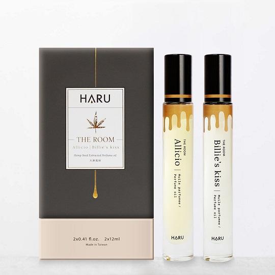 【HARU】THE ROOM 大麻香水精油12ml x2
