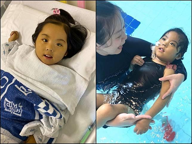 小予恩醫院渡過3歲生日。「小予恩關懷禱告組」FB圖片