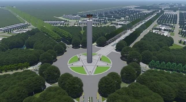 Groundbreaking ibu kota baru dimulai 2021
