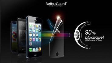 3C好物-RetinaGuard 視網盾眼睛防護藍光膜Mac Air專用